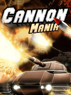 Cannon Mania 320X240 Mobile Game