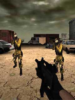Mission Terror Mobile Game
