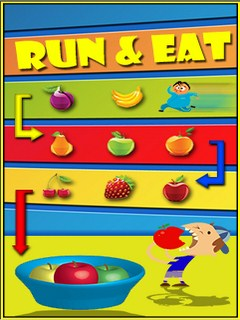 Run And Eat Mobile Game
