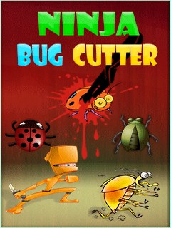 Ninja Bug Cutter Mobile Game
