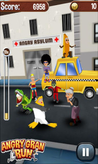 Angry Gran Run - Running Game For Android V1.6.0.1 Mobile Game