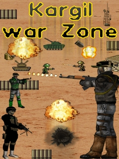 Kargil War Zone Mobile Game