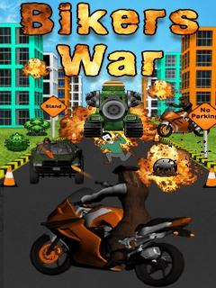 Bikers War Mobile Game