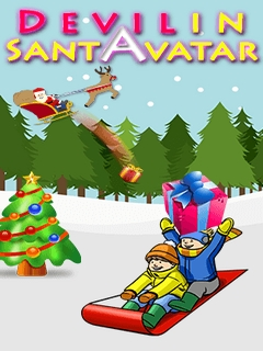 Devil In Santa Avatar Mobile Game