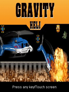 Gravity Heli 128X160 Mobile Game