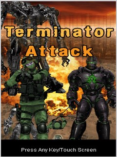 Terminator Attack 128X160 Mobile Game