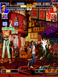 download the king of fighter 97 for android