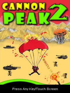 Cannon Peak 2 Mobile Game