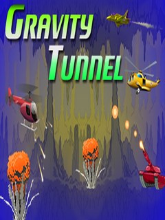 Gravity Tunnel Below 240X320 Mobile Game