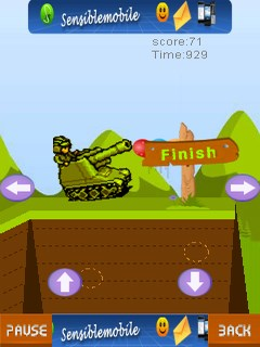 Tank Track Mobile Game