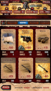 Pirates Of The Caribbean For Android Phones V 1.8.0 Mobile Game