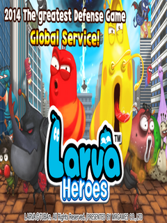 Larva Heroes Lavengers 2014 For Android Phones V1.2.4 Mobile Game