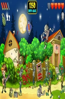 Zombie Area For Android Phones Games V 1.1.7 Mobile Game