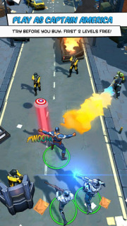Captain America TWS Mobile Game