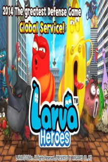 Larva Heroes Lavengers 2014 Free Android Game Mobile Game