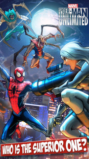Spider Man Unlimited Mobile Game