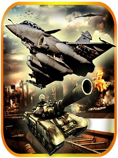 Air Force Combat Raider Attack Mobile Game