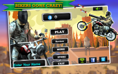 Biker Ninja Quick Gun Escape Mobile Game