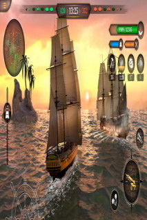 King Of Sails Ship Battle Mobile Game