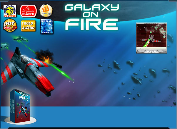 GALAXY ON FIRE Mobile Game