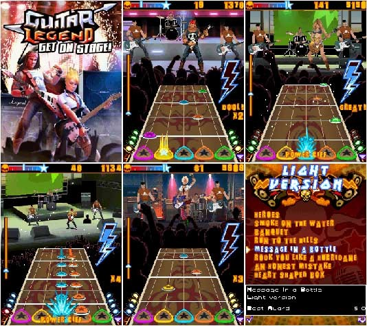 Guitar_Legend_Get_on_Stage Mobile Game