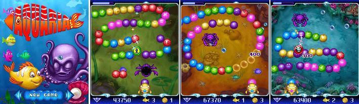 Aquaria Symbian OS9.1 Mobile Game