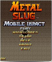 Metal Slug Mobile Impact Mobile Game