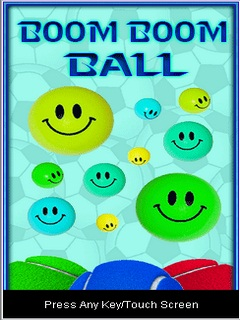 Boom Boom Balls Mobile Game