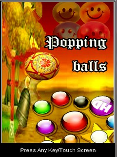 Pooping Balls Mobile Game