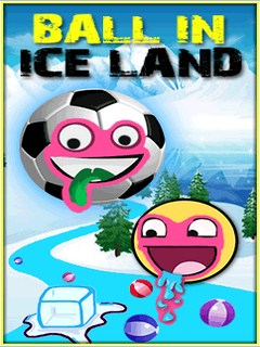 Ball In Ice Land Mobile Game