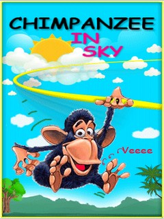 Chimpanzee In Sky Mobile Game