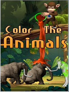Color The Animals Mobile Game