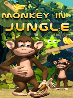 Monkey In Jungle Mobile Game