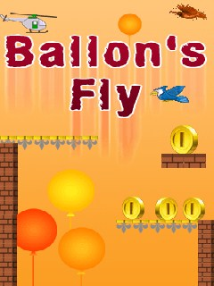 Balloons Fly 128X160 Mobile Game