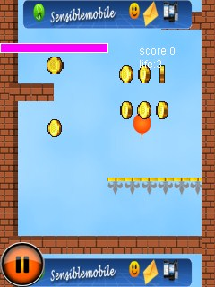 Download Balloons Fly 128X160 Mobile Game, Adventure