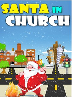 Santa In Church Mobile Game