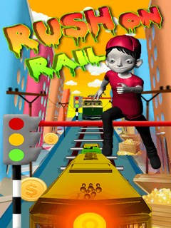 Rush On Rail Mobile Game