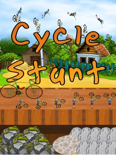 Cycle Stunt Mobile Game
