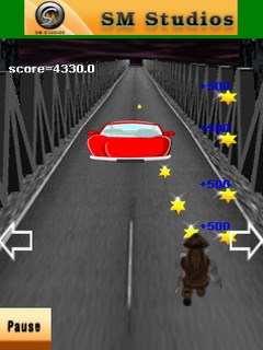 Road Runner Mobile Game