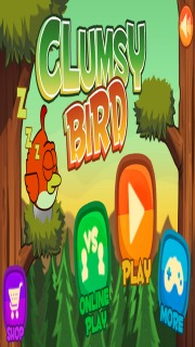 Clumsy Bird For Android Phones V 1.6 Mobile Game
