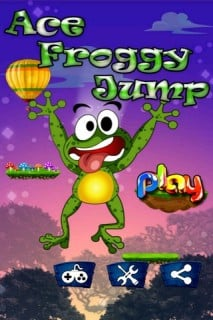 Ace Froggy Jump Mobile Game