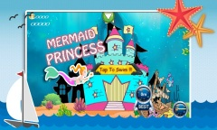 Aqua Little Mermaid Princess Mobile Game