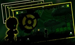 Alien Walk On Green Wonderland Mobile Game