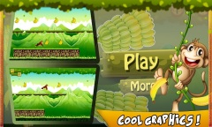 Bananas Island : Monkey Run Mobile Game