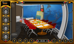 Knf Underwater Restaurant Escape Mobile Game