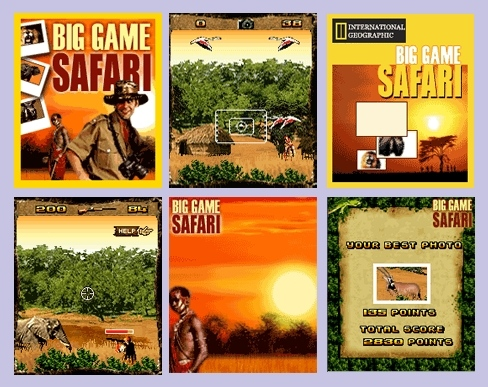 Big Game Safari Mobile Game