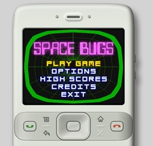 Space Bugs Mobile Game