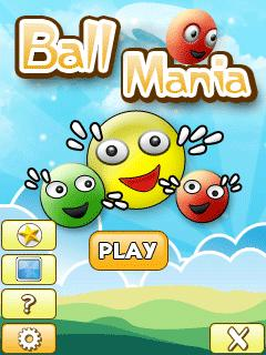 Ball Mania 128X160 Mobile Game