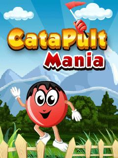 Catapult Mania  176x220 Mobile Game
