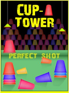 Cup Tower Mobile Game